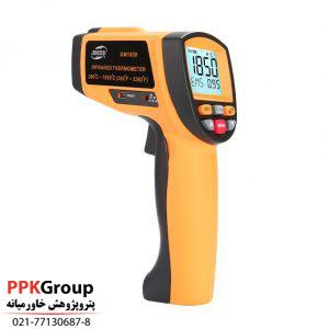 ترمومتر یا دما سنج غیر تماسی مدل GM1850 یک ترمومتر لیزری تفنگی با دقت بالا از برند BENETECH می باشد