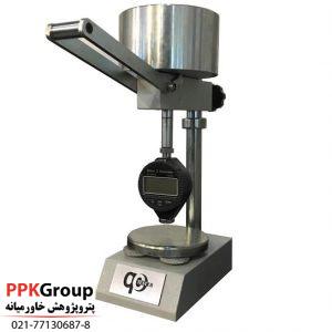 پایه دستگاه سختی سنج لاستیک