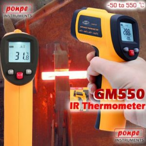 ترمومتر لیزری gm550